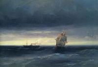 Море (И.К. Айвазовский, 1882 г.)
