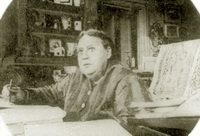 Е.П. Блаватская, пишет Тайную Доктрину (1887 г.)