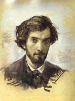 И.И. Левитан (автопортрет)