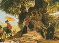 У Богородицкого дуба. 1835