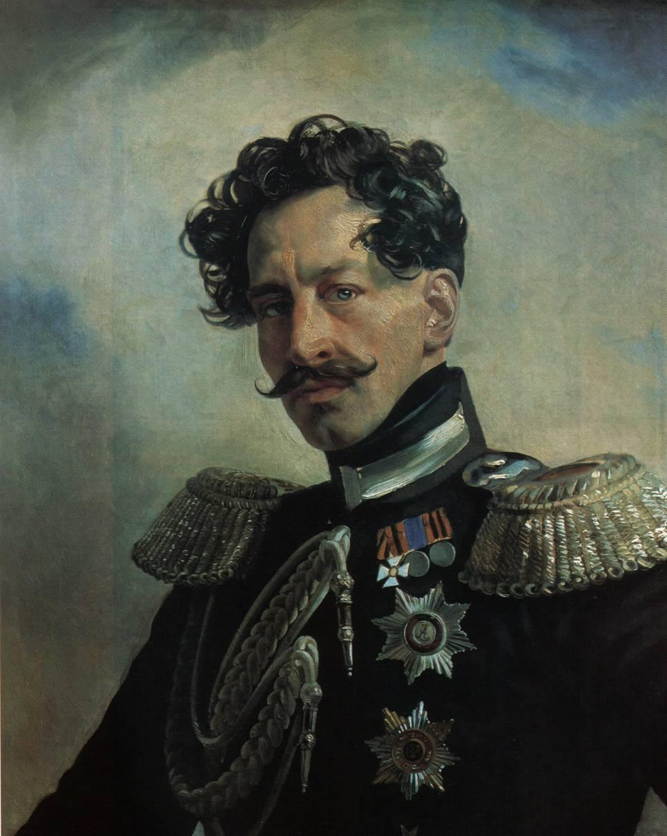 Портрет генерал-адъюнкта графа Василия Алексеевича Перовского.