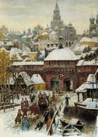 Москва. Конец XVII века (А.М. Васнецов)