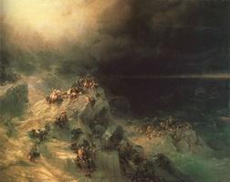 Всемирный потоп (И.К. Айвазовский, 1864 г.)