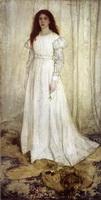 Девушка в белом (Д. Уистлер)