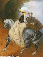 Портрет Евгения и Эмилии Мюссар.1849