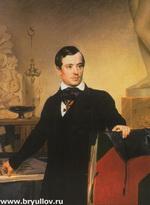 Портрет А. Брюллова (не позднее 1841 г.)