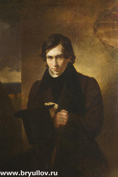 Портрет писателя Н. В. Кукольника