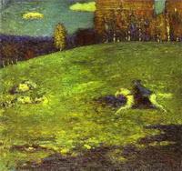 Синий всадник (В.В. Кандинский, 1903 г.)