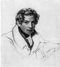 Автопортрет (К.П. Брюллов, 1830-1833 г.)