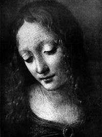 Мадонна в гроте (фрагмент)