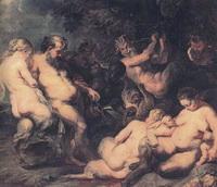 Вакханалия (П.П. Рубенс, ок. 1615 г.)