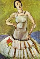 Балерина. Гармония в зеленом (А. Матисс)