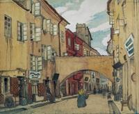 Стеклянная улица в Вильно (М.В. Добужинский, 1906 г.)