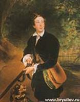 Портрет графа А.К. Толстого. 1836