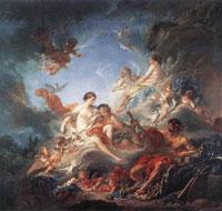 Гефест находит доспехи Ареса (Ф. Бушер)