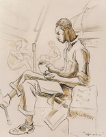 Кофе и еда (Т.Х. Бентон, 1944 г.)