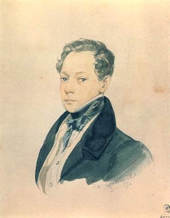 Портрет художника П. В. Басина.