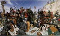 Викинги в бою