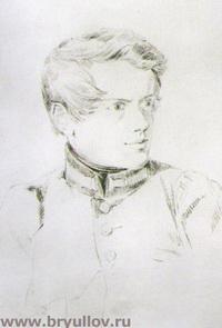 Автопортрет (К.П. Брюллов, 1813 г.)