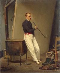 Орас Верне (автопортрет)