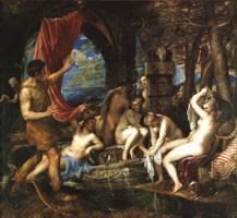 Диана и Актеон (Тициан, 1559 г.)