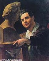 Портрет скульптора Ивана Витали. 1836-1837