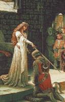 Картина Посвящение в рыцари
