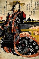 Японская классическая ксилография 18-19 в.