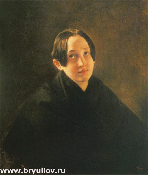 Портрет Елизаветы Дурновой.