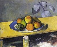 Яблоки, персики, груши и виноград (П. Сезанн, 1879-1880 г.)