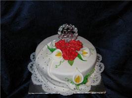 Торт (пастилаж)