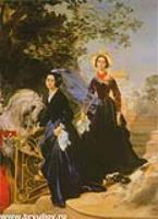 Портрет сестер Шишмаревых. 1839
