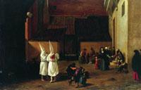 Флагелланты (Питер ван Лаар, около 1635 г.)