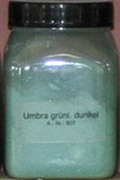 Умбра тёмно-зелёная