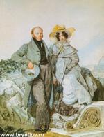 Портрет Григория и Варвары Олениных (1827 г.)
