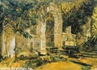 Руины в парке. 1820-е
