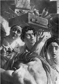 Последний день Помпеи (фрагмент)