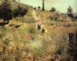 Тропинка в высокой траве (Пьер-Огюст Ренуар)