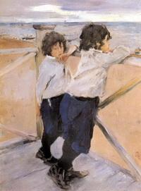 Дети (В. Серов, 1899 г.)
