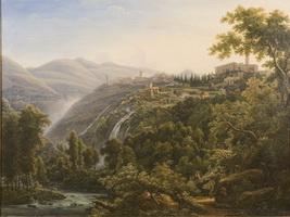 Вид в Италии (Ф.М. Матвеев, 1805 г.)