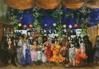 Карнавал в Испании (А.А. Арапов, 1911 г.)