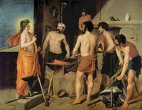 Кузница Вулкана (Д. Веласкес, 1630 г.)