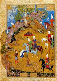 Султан Санджар и старуха (Мухаммед)