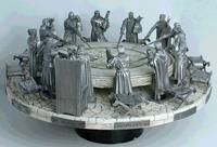 Литая миниатюра Король Артур и Рыцари Круглого Стола
