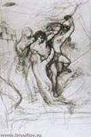 Гилас, увлекаемый нимфами в воду.1827