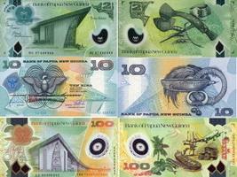 Банкноты Папуа - Новой Гвинеи