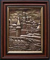 Рельефная картина Прибрежный город.