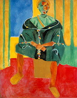 Сидящий Риффиан (А. Матисс, 1913 г.)