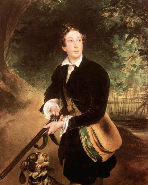Портрет графа К. А. Толстого