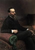 Портрет Н.А. Римского-Корсакова (И.Е. Репин, 1893 г.)